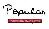 Popular - italian restaurant & sushi