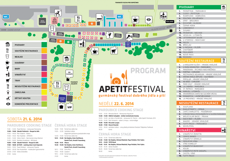 Mapa PCE 2014